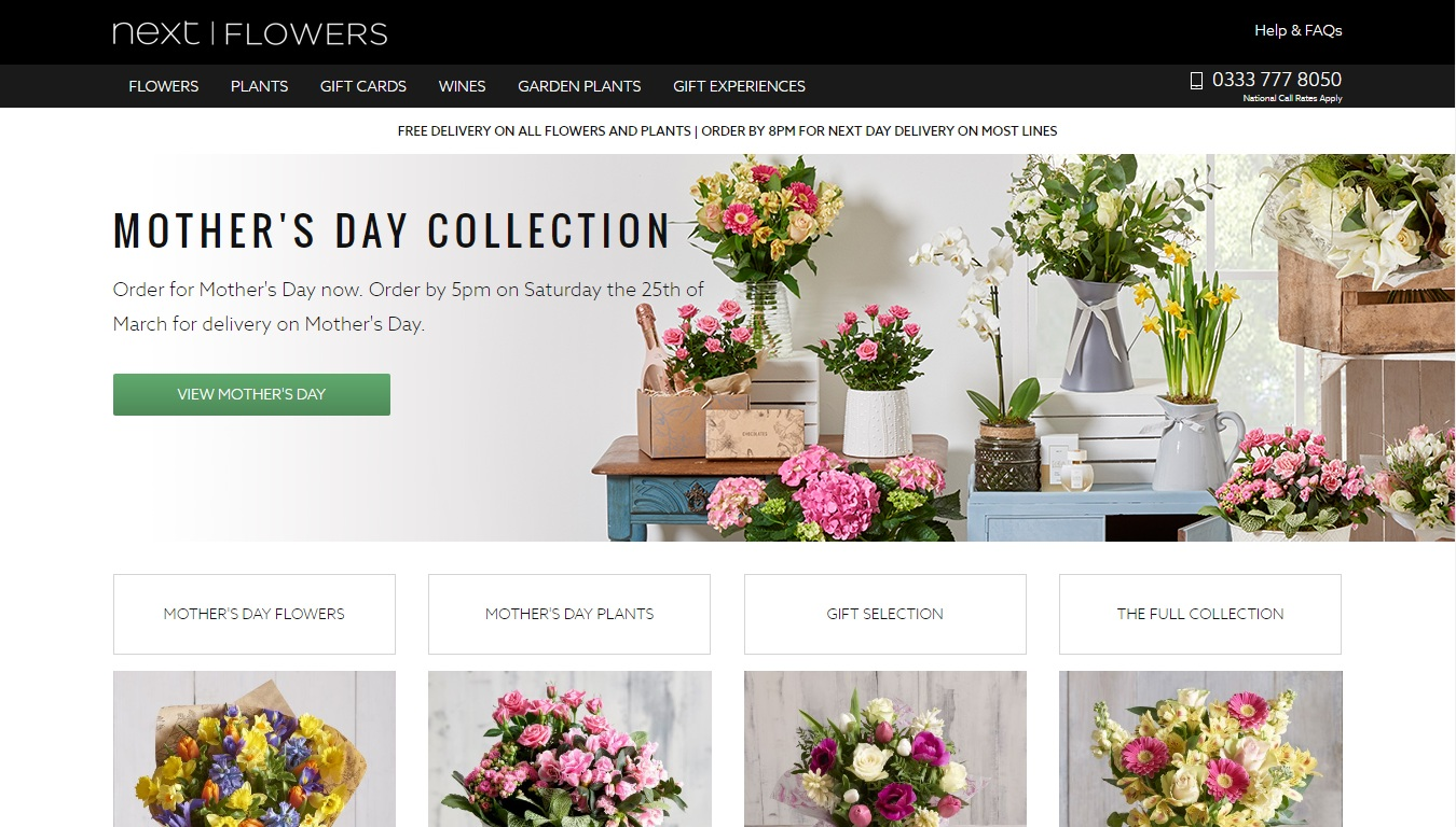 Valid Next Flowers Discount Code Voucher Codes September 2018