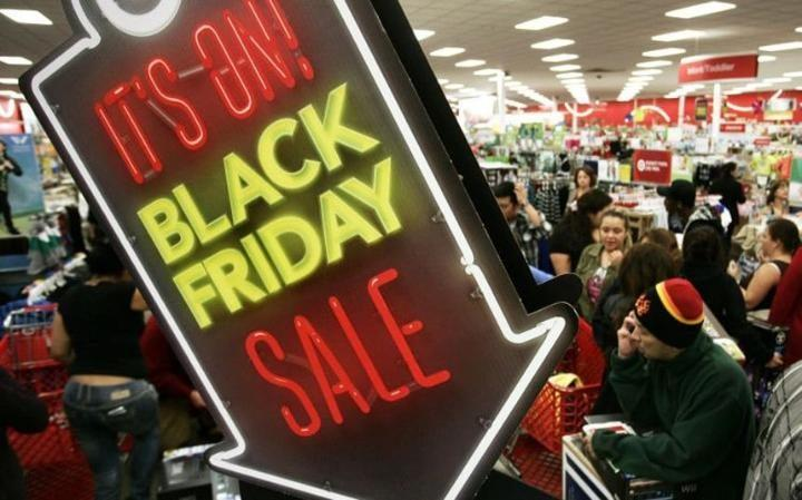black friday sales in mega store