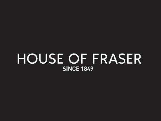 386c1661 Valid House of Fraser 10 % Off Discount Code & Voucher Codes, July 2019